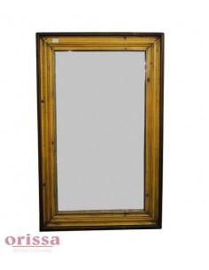 Cornice specchio legno colorata