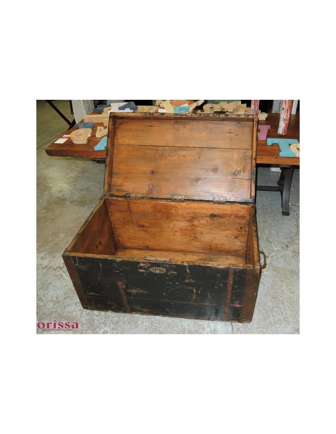 Baule rustico legno