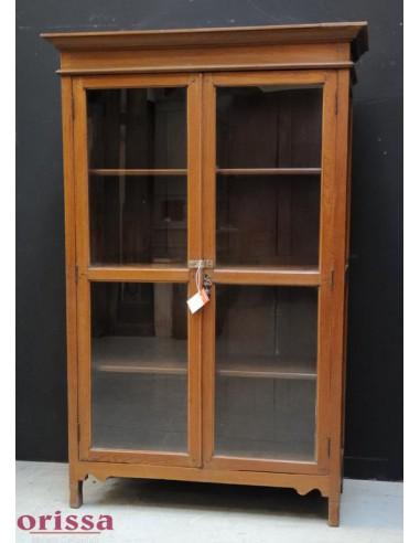 Vetrina coloniale in legno di teak L2S17 - Orissa Milano