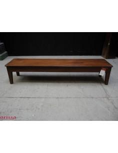 Panca bassa legno di teak