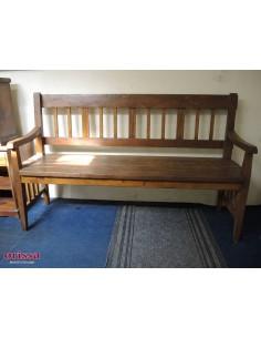 Panchina legno massello
