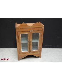 Vetrina coloniale legno di teak