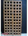 Portale in legno traforato