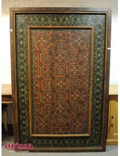 Imagén: Pannello etnico in legno decorato