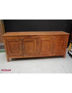Buffet in legno di teak coloniale