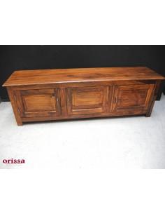 Mobile porta TV 3 ante in legno massello