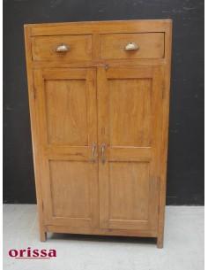 Credenza armadio con cassetti in legno di teak