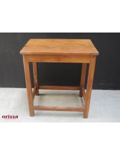 Imagén: Tavolino in legno di teak coloniale