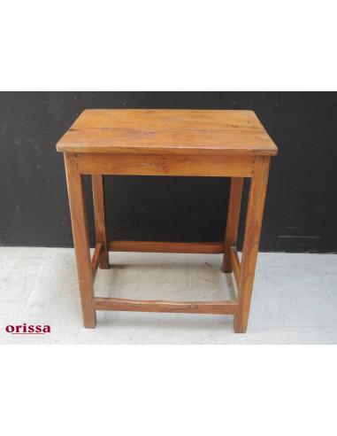 Tavolino in legno di teak coloniale