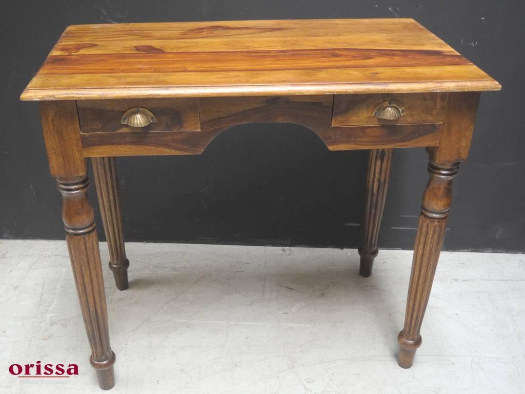 Scrivania legno massello con cassettini or orissa milano