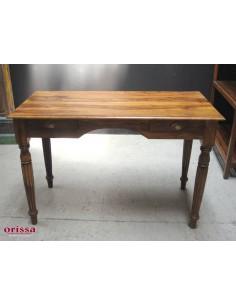 Imagén: Scrivania  in legno massello con cassetti 120cm