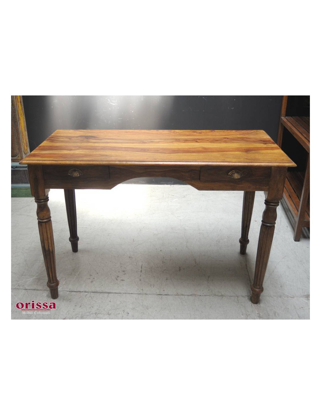 Scrittoio in legno massello OR238 - Orissa Milano