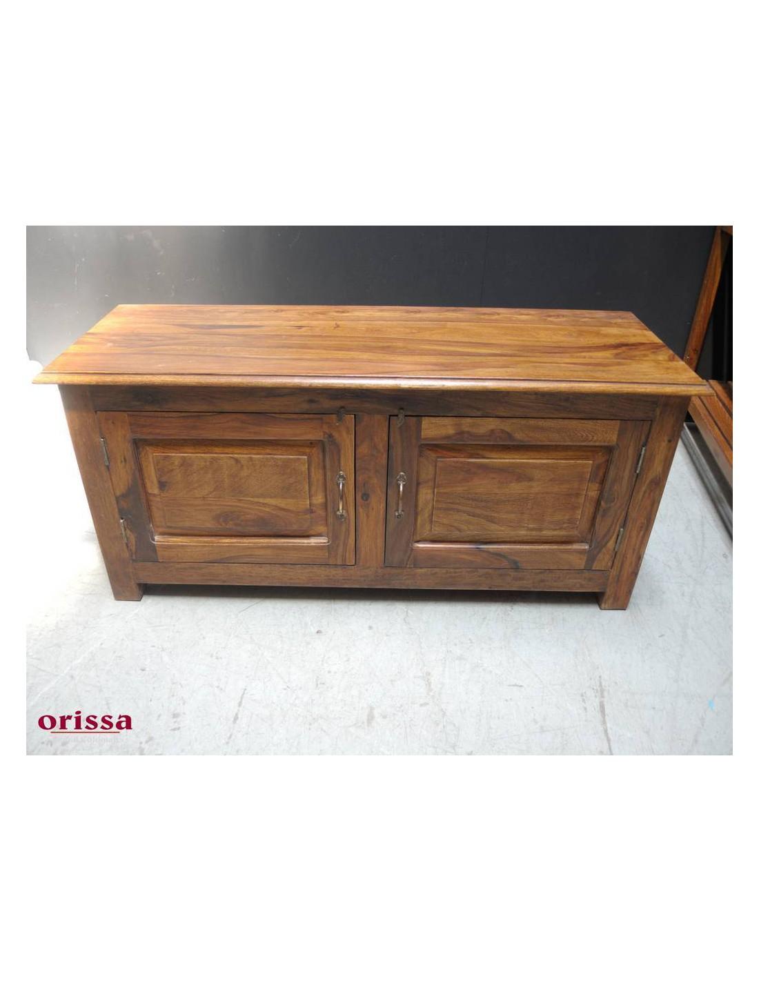 Mobile porta tv in legno massello or021 orissa milano - Mobile porta tv in legno ...