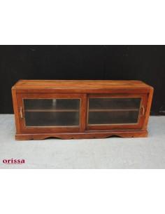 Mobile basso coloniale a vetri