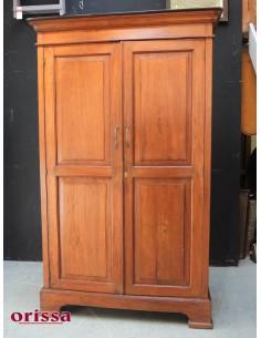 Armadio coloniale in legno di teak