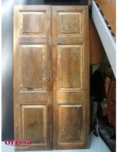 Imagén: porta doppio battente legno di teak