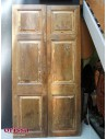 porta doppio battente legno di teak
