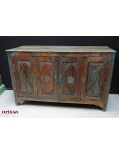 Credenza buffet coloniale effetto shabby
