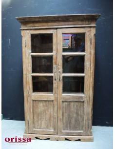 Imagén: Vetrina coloniale in legno di teak