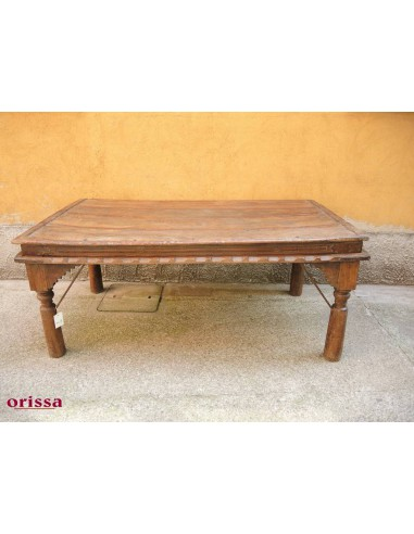 Tavolo da pranzo etnico originale indiano