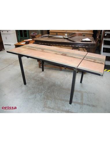 Tavolo Industrial Recycled allungabile 120/190cm