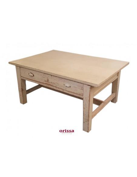 Tavolo da salotto rustico