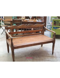 Imagén: Panca coloniale in legno di teak