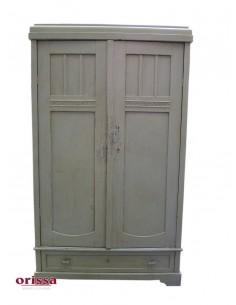 Armadio vintage colore grigio