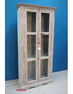 Imagén: Vetrina shabby legno di teak