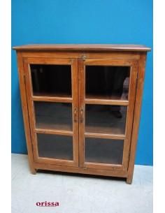 vetrina legno di teak