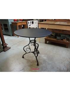 Imagén: Tavolo ferro battuto nero