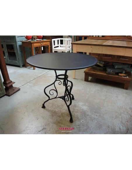 Tavolo ferro battuto nero