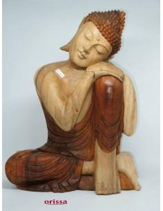 Statua Buddha polvere pietra