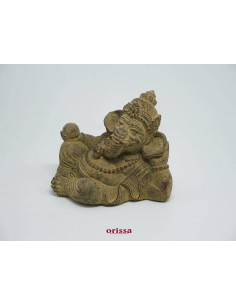 Statua Ganesha sdraiato H 14
