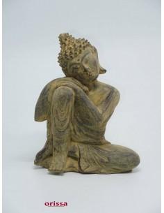 Statua Buddha Thailandese inginocchiato