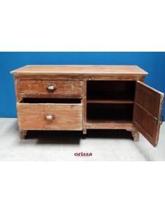 Scrivano il legno di teak con cassetti