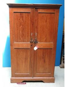 Armadio legno di teak coloniale