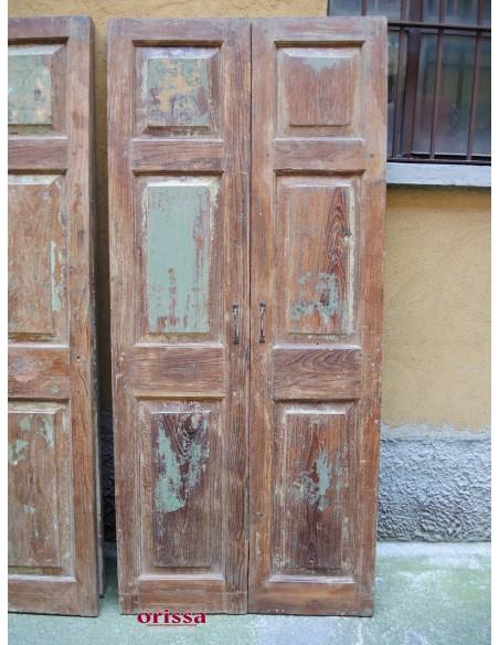 Ante in legno di teak
