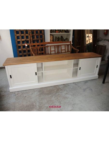 Mobile porta TV legno massello