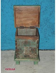 Bauletto legno indiano