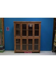 Libreria a vetri coloniale