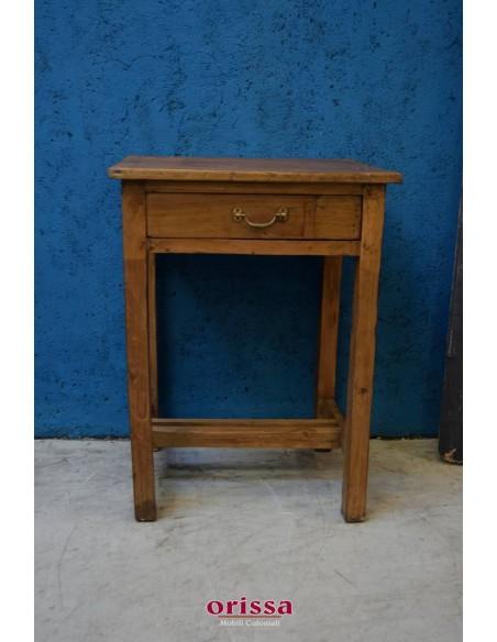 Tavolino coloniale legno di teak