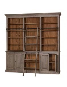 Imagén: Libreria legno massello