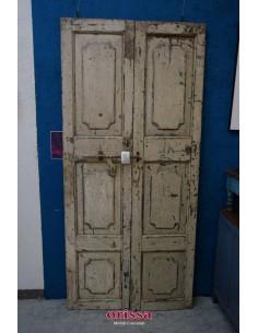 Porte vintage in legno massello