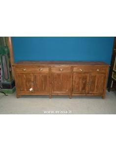Buffet coloniale legno di...