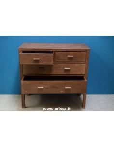 Cassettiera legno di teak