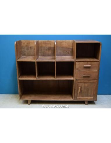 Mobile scaffale legno di teak