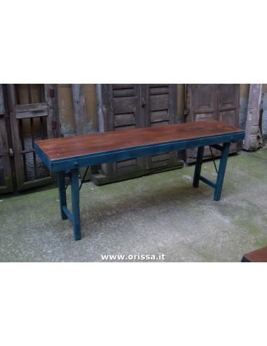 Console pieghevole legno massello