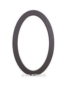 Specchio ovale in legno...