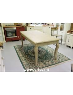 Tavolo in legno gamba francese